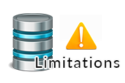 sqlite databse limitations